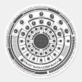 Revolution Round Sticker