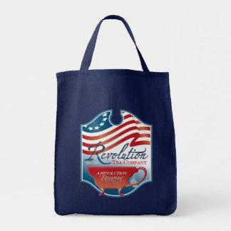 Revolution Tea Company Grocery Tote Bag