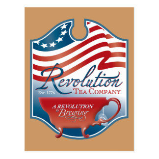Revolution Tea Company Postcard