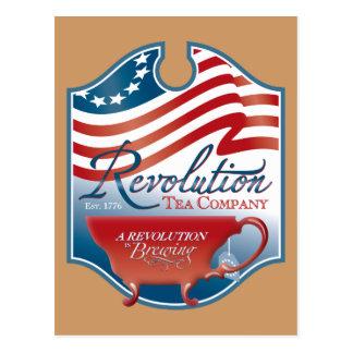 Revolution Tea Company Postcards