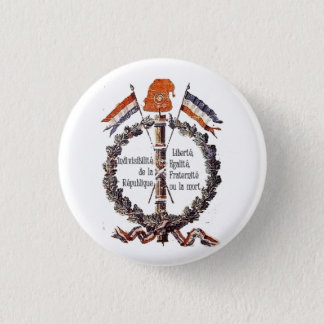 revolutionary 3 cm round badge