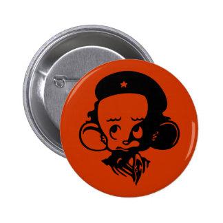Revolutionary Hamster 6 Cm Round Badge