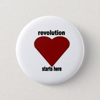 Revolutionary Passion 6 Cm Round Badge