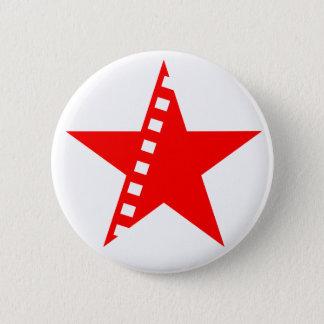 Revolutionary socialist cinema 6 cm round badge