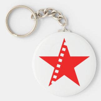 Revolutionary socialist cinema key ring