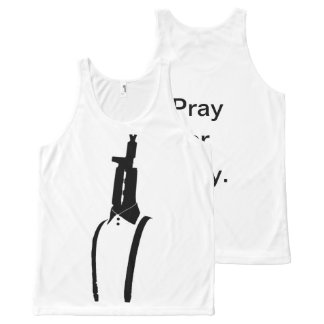 Revolutionary tank top (Pray or Prey)