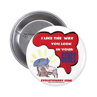 Revolutionary Thinking Monkey 6 Cm Round Badge