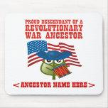 Revolutionary War Ancestor Mouse Pads