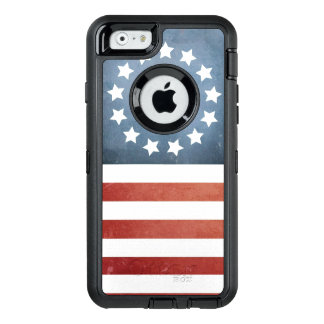Revolutionary War Betsy Ross Faded U.S. Flag OtterBox iPhone 6/6s Case