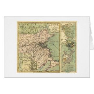 Revolutionary War Map - 1775 Card