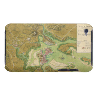Revolutionary War Map of Boston Harbor 1776 iPod Touch Case-Mate Case