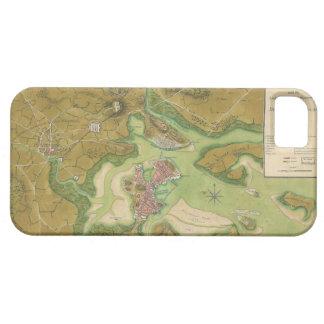 Revolutionary War Map of Boston Harbor 1776 iPhone 5 Cover