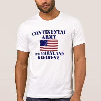 Revolutionary War Maryland Regiment T-shirt