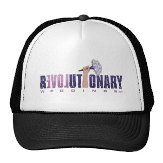 Revolutionary Weddings_final logo (updated2) Mesh Hat