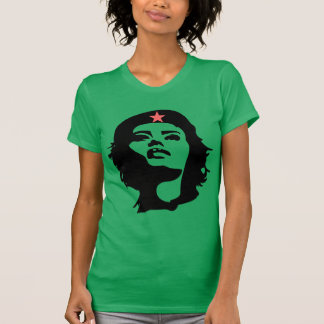 REVOLUTIONARY WOMAN stencil Short Sleeve T-Shirt