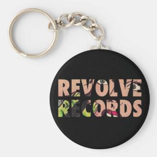 Revolve Records logo Key Ring