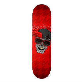 Revolve (Your cooler than me) Red 19.7 Cm Skateboard Deck