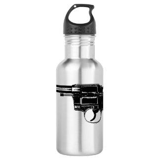 Revolver Silhouettes in Deep Black 532 Ml Water Bottle