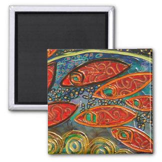 revolving door (painting) magnet 3
