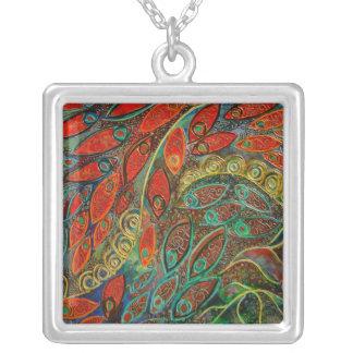 Revolving Door (painting) necklace