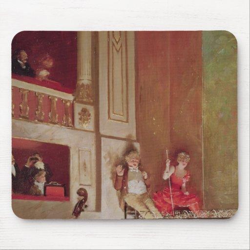 Revue at the Theatre des Varietes, c.1885 Mousepads