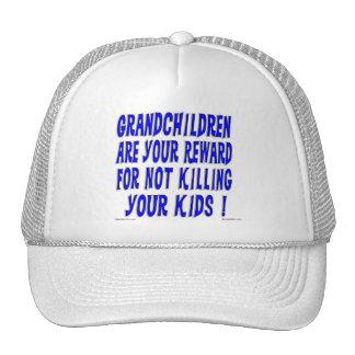 Reward For Grandparents Cap