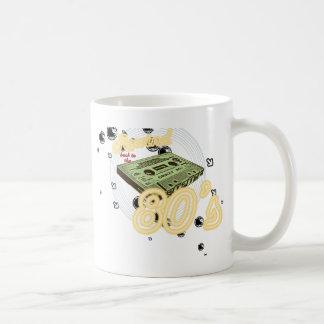 Rewind back to the 80s coffee mug