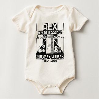 Rex jams and jellies Dutch vintage ad Baby Bodysuit