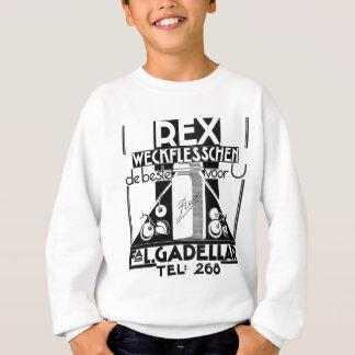 Rex jams and jellies Dutch vintage ad Sweatshirt