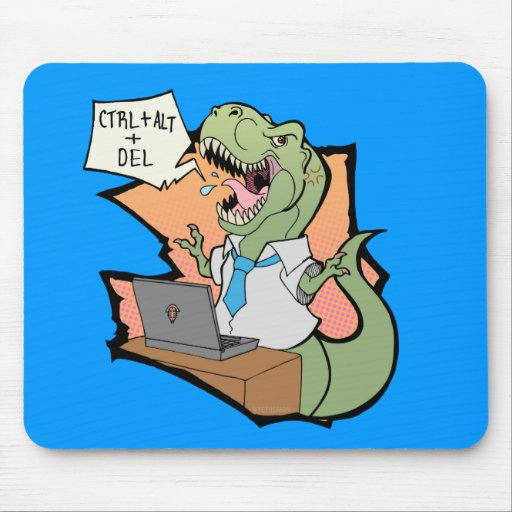 Rex Office Rage Mouse Pad
