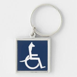 Rex Wheelchair Keychain