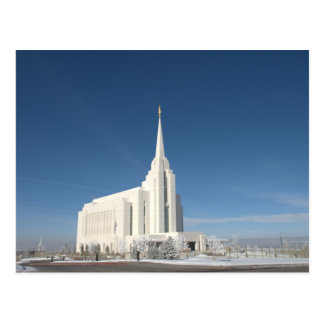 Rexburg LDS Temple Postcard