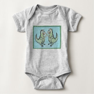 Rexie and Rex Baby Bodysuit