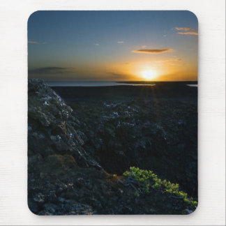 Reykjanes Sunset #2 Mouse Pad