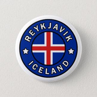 Reykjavik Iceland 6 Cm Round Badge
