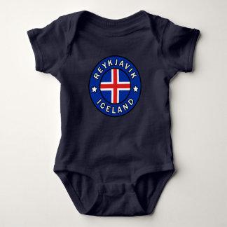 Reykjavik Iceland Baby Bodysuit