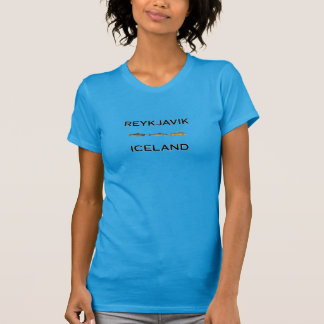 Reykjavik Iceland Fly Fishing T-Shirt