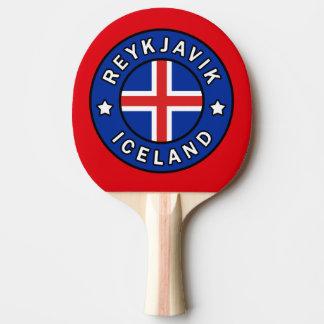 Reykjavik Iceland Ping Pong Paddle