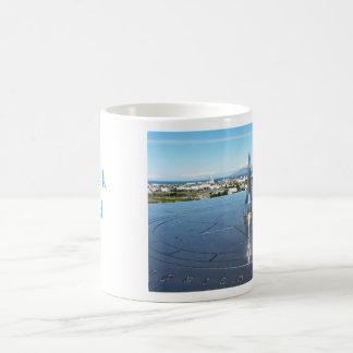 Reykjavík Iceland with text Coffee Mug