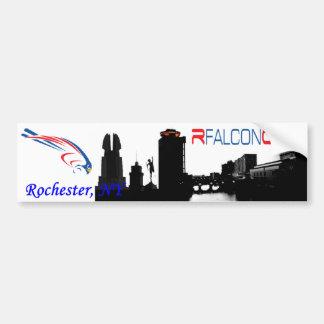 Rfalconcam Cityscape Bumper Sticker