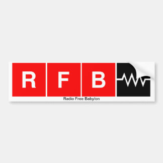 RFB Bumper Sticker