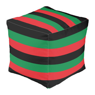 RGB Flag  Polyester Cubed Pouf (Large)