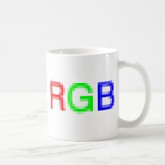 RGB-pixelated Coffee Mug