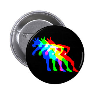 RGB Unicorn V02 6 Cm Round Badge