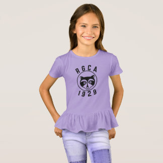 RGCA Girl's Ruffle T-shirt
