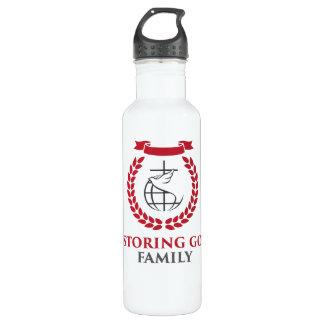 RGF 24oz White Steel Water Bottle
