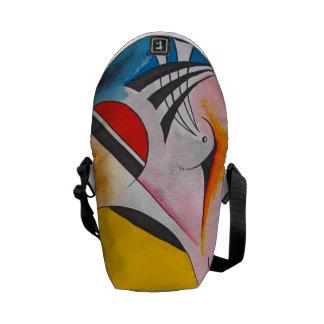 """""""Rhapsody"""" design by Viktor Tilson Messenger Bags"""