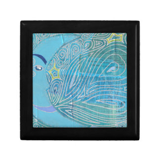 Rhapsody in Blue Moon 001.jpg Small Square Gift Box