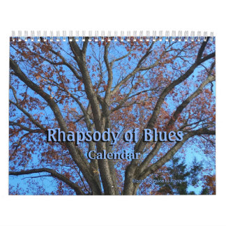Rhapsody of Blues - Calendar