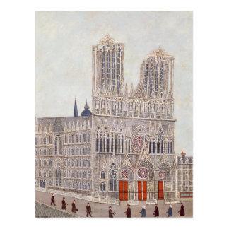 Rheims Cathedral, c.1923 Postcard
